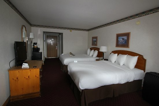 Gray Wolf Inn and Suites: Chambre