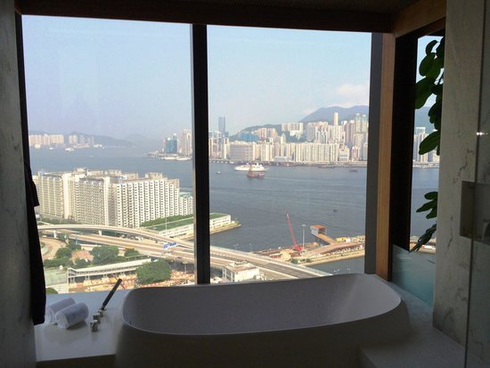 Hotel ICON: View from bathroom