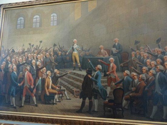 Robespierre bild von musee de la revolution francaise for Restaurant a vizille