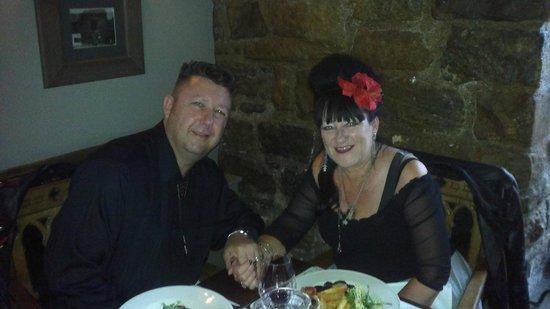 Blackfriars Restaurant: romantic table for our anniversary dinner