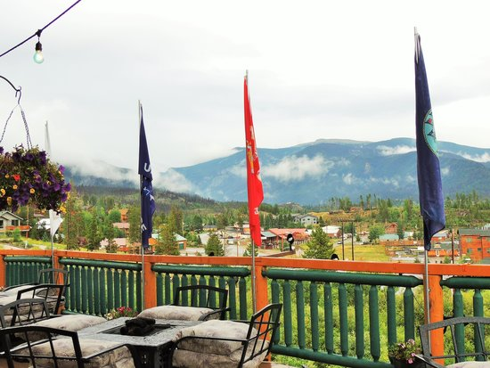 Gateway Inn: View from deck