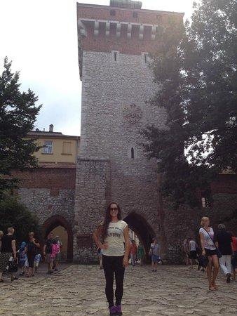 St. Florian's Gate (Brama Florianska) : florians gate