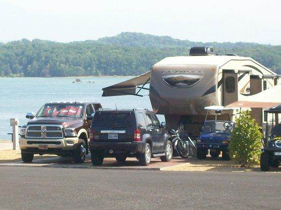 Anchor Down RV Resort, Dandridge, TN