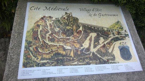 Vieux Eze : Map of location