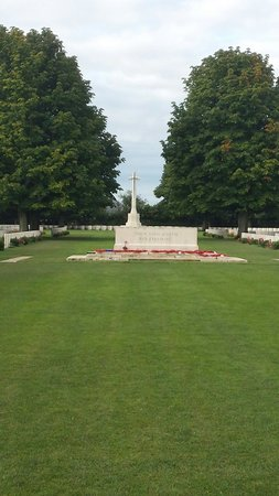 British War Cemetery: The Cemetery