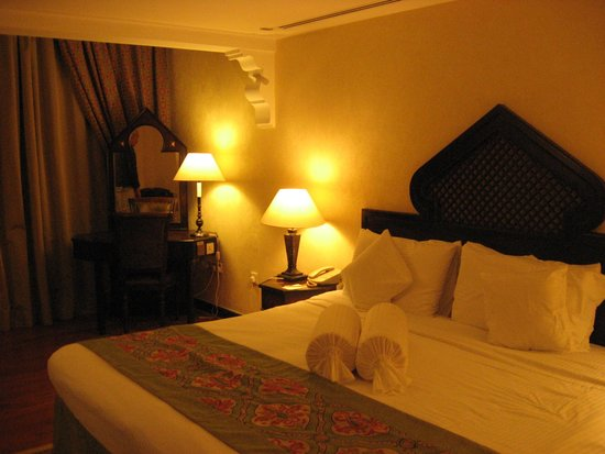Arabian Courtyard Hotel & Spa : linda habitación