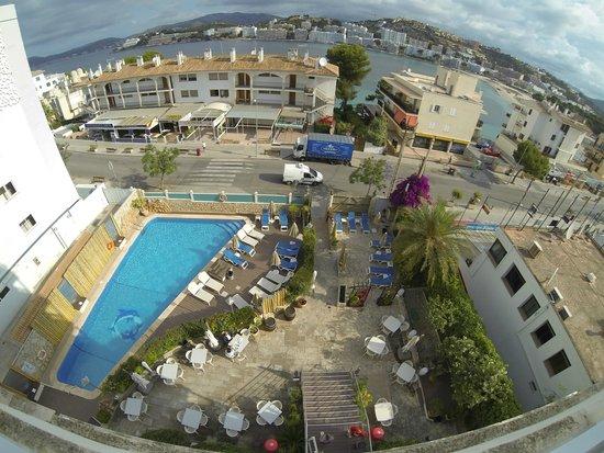 Playas del Rey Hotel: Der Pool/Außenbereich