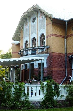 Ammende Villa: Terrace restaurant @ Villa Ammende