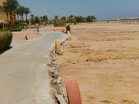Strand Beach and Golf Resort Taba Heights: Sandy beach