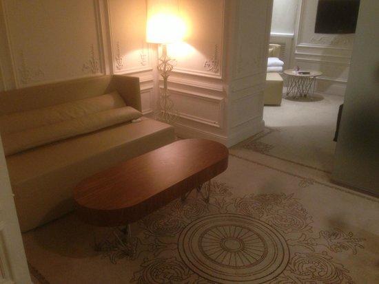 Crowne Plaza St. Petersburg - Ligovsky: Lounge area