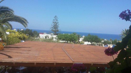 SuneoClub Chrissi Amoudia: Vom Frühstücksraum aus