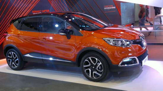 Renault Captur Mini Suv On Display Picture Of L Atelier