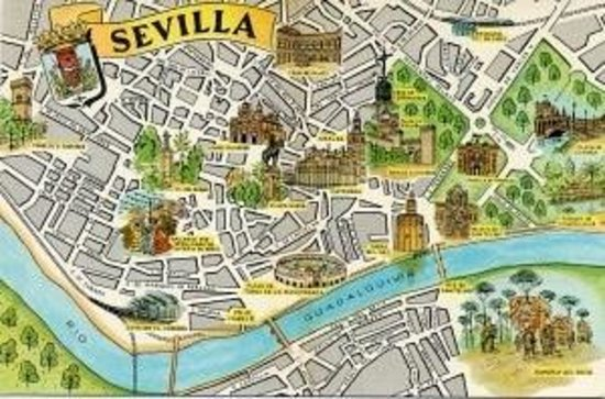 piantina citt Picture of NH Collection Sevilla Seville TripAdvisor