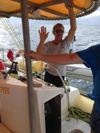 Scoobidoo : Scoobi Too St Martin - the boat captain