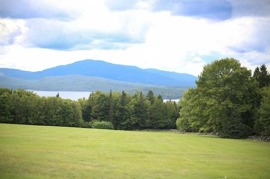 Greenville Inn at Moosehead Lake : View from our cabin