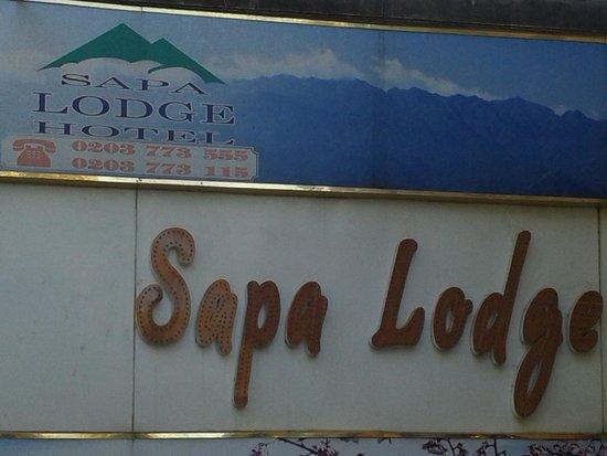 Sapa Lodge Hotel: vista desde afuera