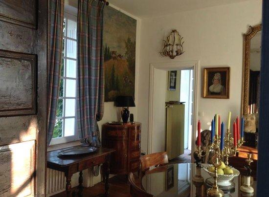 La Gloriette : The dining room