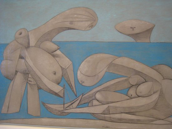 Collection Peggy Guggenheim : On the Beach by Picasso