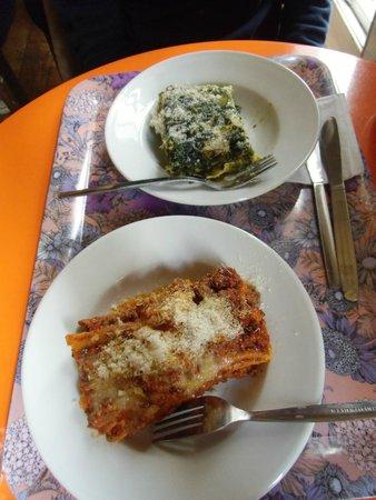 Arancina : Le lasagne