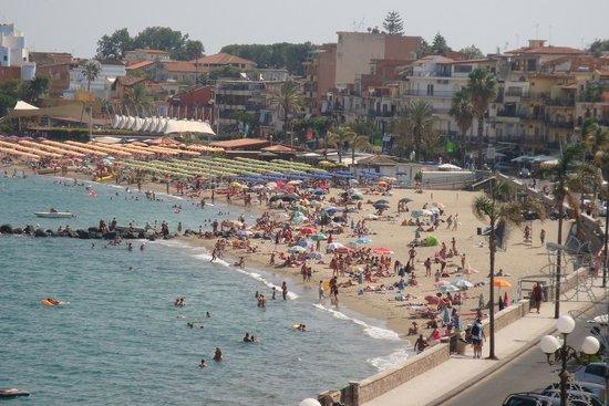 Hotel Villa Mora: Uitzicht vanuit kamer