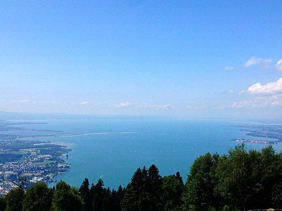 Pfaenderbahn: Vista dal Monte Pfander