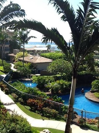 Waipouli Beach Resort: view from d312 bedroom
