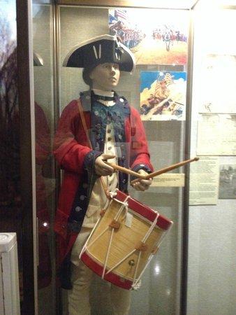 Indiana War Memorial: Actual coat of Gen Washington's drummer