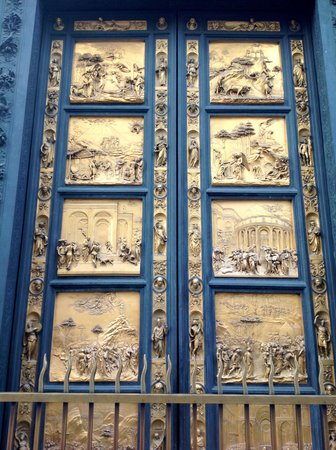 Baptistery of San Giovanni (Battistero): The Ghiberti doors