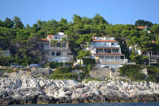 Apartments Violando: gli appartamenti visti dal mare