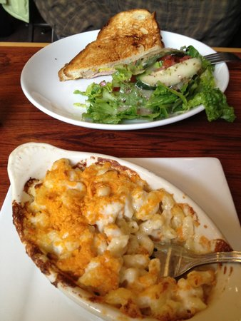 The Rookery Cafe: The Cuban and some baked mac & cheese