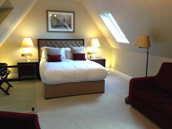 St Paul's Hotel : Chambre Exécutive (36) côté lit