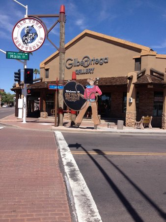 Old Town Scottsdale: Great Old Town area!!