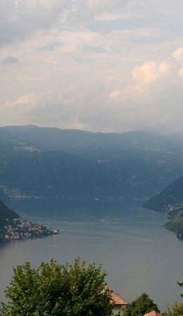 Da Pippi : Vista lago da Molina