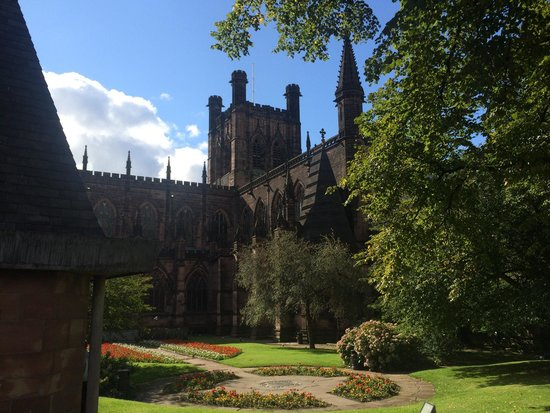 Chester Cathedral and Bell Tower