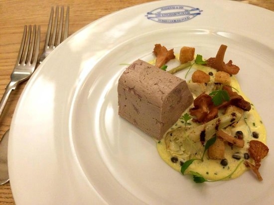 The Kingham Plough: Duck leg terrine