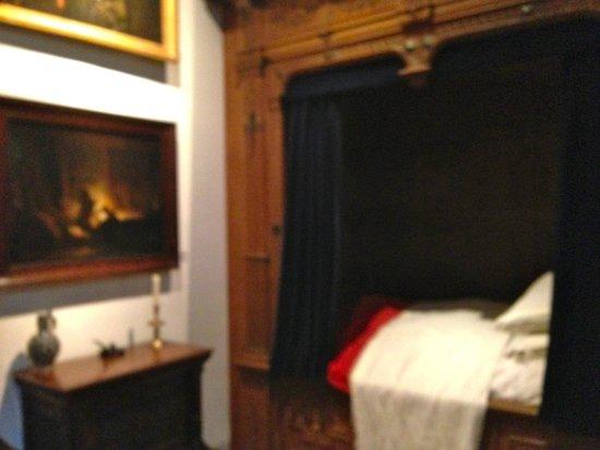 Musée de la maison de Rembrandt : Rembrandt's bedroom