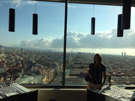 Gran Hotel Torre Catalunya: view from restaurant