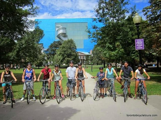 Toronto Bicycle Tours : Art Gallery of Ontario - one of many great stops on our tour