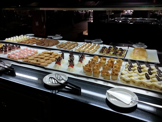 Hotel Riu Palace Tikida Agadir : sweets and morroccon cookies were the best