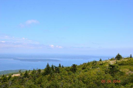 Mount Desert Island: From atop Cadillac Mountain