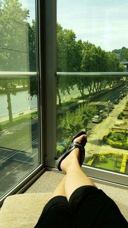 NH Collection Ria de Bilbao: Relax con vistas a la ría