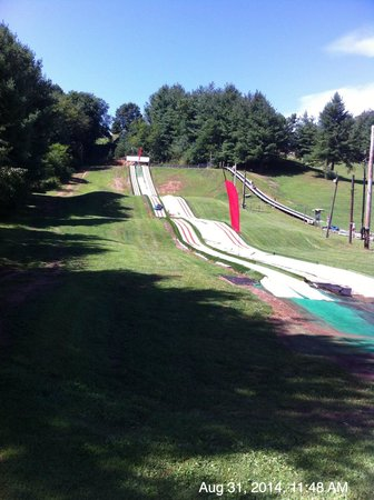 Scaly Mountain Outdoor Center: Turf Tubing!