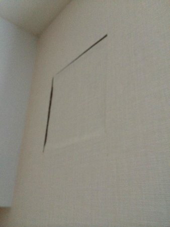 Hotel Commonwealth: Poorly Concealed Access Hatch