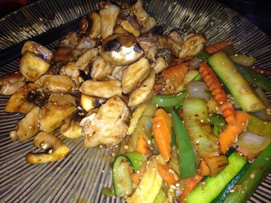 Matsuzaka Teppanyaki: Lunch..yum..cooked perfectly
