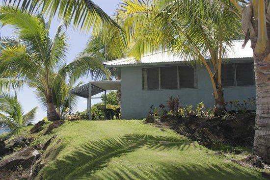 Savaii Lagoon Resort: waterfront bungalow