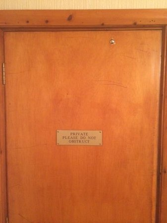Best Western Shrubbery Hotel: Adjoining room!