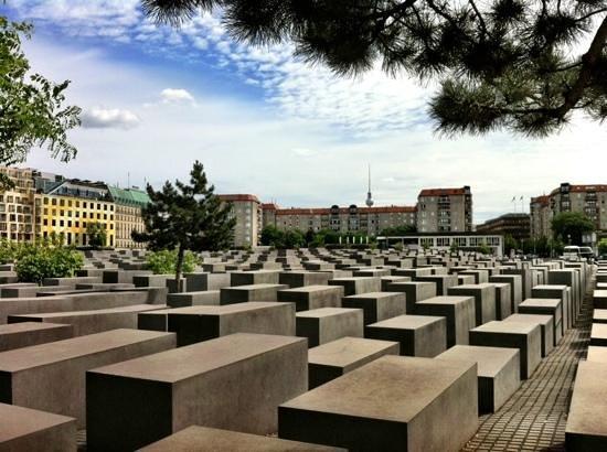 Holocaust-Mahnmal (Denkmal für die ermordeten Juden Europas): memorial
