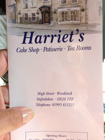 Harriet's Tea Room and Bakery