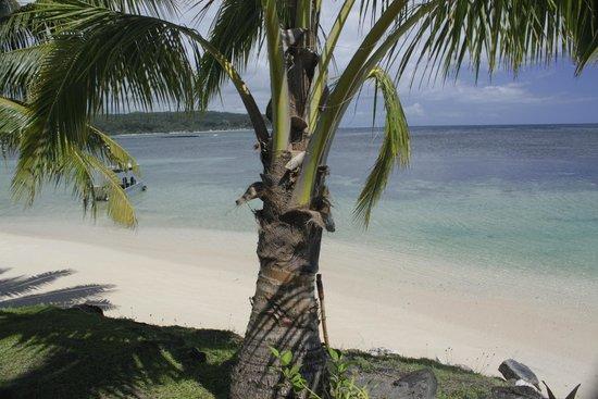 Savaii Lagoon Resort: view from waterfront room