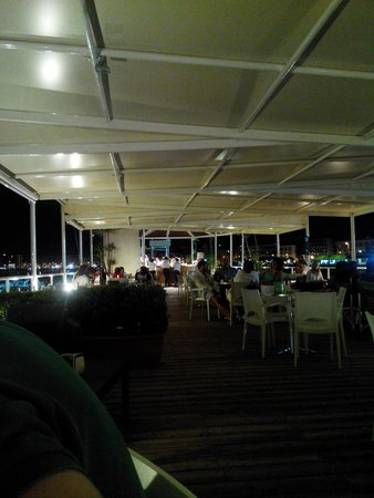 Porto Davide Cafe on the Sea!